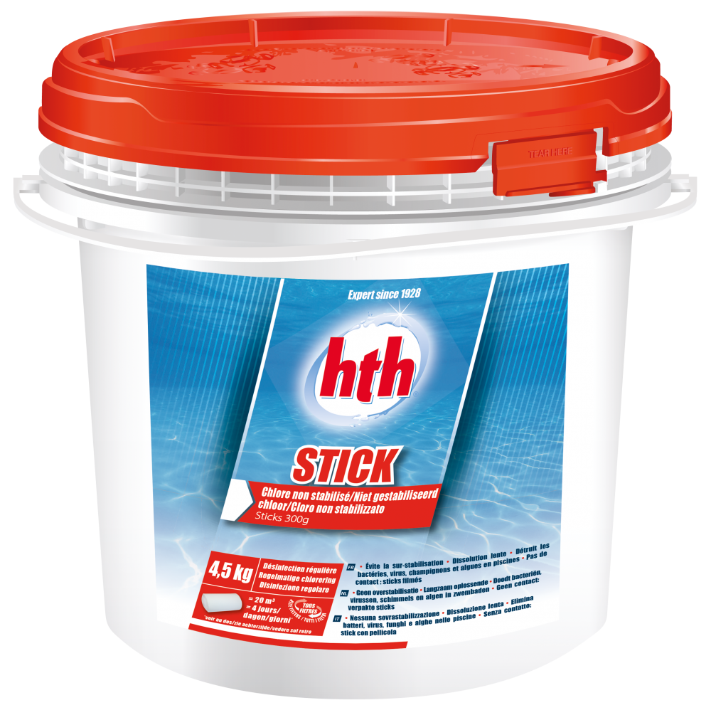 Hth sticks 300g - Produit piscine hth ...