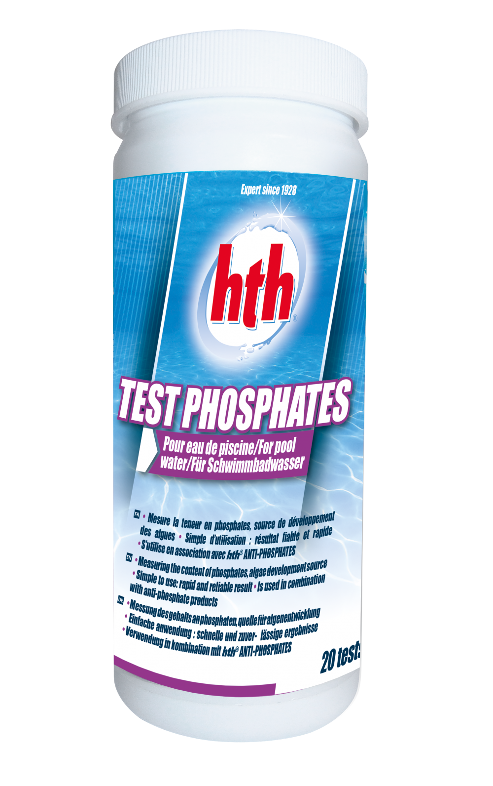 Hth test phosphates for Anti phosphate piscine