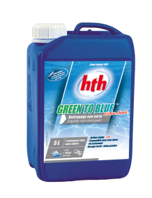hth GREEN TO BLUE EXTRA SHOCK