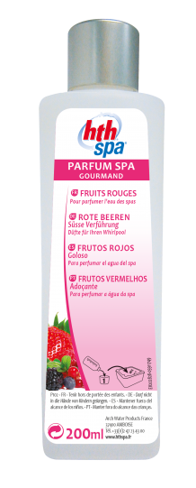 hth Spa PARFUM FRUITS ROUGES